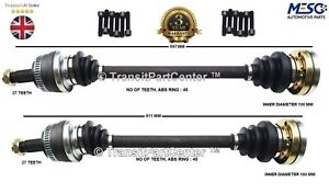 A PAIR OF RIGHT AND LEFT REAR DRIVE SHAFT FITS BMW 3 SERIES E90 E91 E92 2004-13