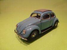MINICHAMPS 62000 VW VOLKSWAGEN BEETLE 1200 SPLIT - BLUE 1:43 - GOOD CONDITION