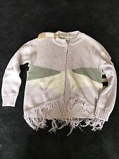 Iglo & Indi Girls Lilac Woollen Cardigan Size 6-7 Years