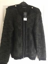 Size 16 Green Knitted Cardigan From Dorothy Perkins