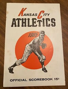 Vintage 1965 Kansas City Athletics Official  Scorebook