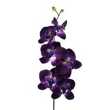 Kunstblume PHALENOPSIS Orchideenzweig 78 cm, Orchidee in LILA.   33538-80