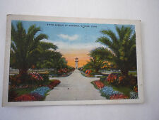 Vintage Postcard Fifth Avenue at Miramar, Havana,Cuba 1935