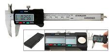 6'' 150mm dual vernier scale caliper depth gauge stainless steel dial test gem