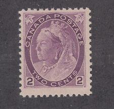 Canada Sc 76 MNH. 1898 2c purple QV Numeral, F-VF