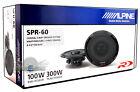 "ALPINE SPR-60 6.5"" 2-WAY CAR AUDIO COAXIAL SPEAKERS (PAIR) New SPR60 6 1/2"""