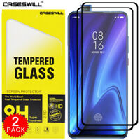 For Xiaomi Mi 9T / 9T Pro FULL COVER Tempered Glass Screen Protector [2-Pack]
