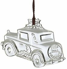 Waterford Marquis 2004 ~ Our First Christmas Ornament Car Just Married # 128424