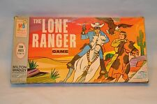 The Lone Ranger Milton Bradley 1966 Classic Board Game MB #4721 GREAT CONDITION