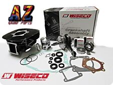 Yamaha Blaster WISECO Crank Crankshaft Cylinder Coated Piston Seals Gasket Kit