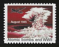 """ATOMIC BOMB ENDS WWII - 1995 U.S. POSTAGE """"STAMP"""" (TYPE 3) - MINT CONDITION"""