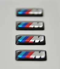 4 x BMW M Wheel Stickers (18x10mm) / BADGES M SPORT ALLOY WHEELS