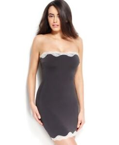 SPANX Firm Control Lace Strapless Body Shaper Full Slip 2410