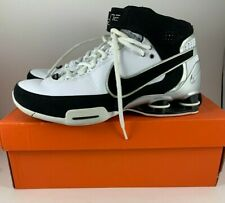 Nike Shox Elite II 2 TB White Black Silver 316904 101 Size 8