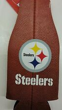 Nfl Pittsburgh Steelers Bottle Cooler, Coozie, Koozie, Coolie, New (Football)