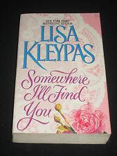 msm LISA KLEYPAS ~ SOMEWHERE I`LL FIND YOU   rare