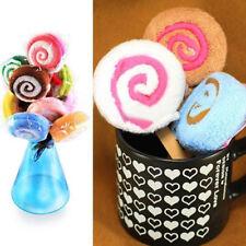 US_ KQ_ Lovely Lollipop Washcloth Creative Bath Spa Towel Wedding Party Favor Gi