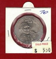 1970 Australia Fifty Cent Unc - Captain James Cook