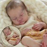 Cute Newborn Baby Doll Soft Silicone Vinyl Realistic Newborn Doll Girls Gifts