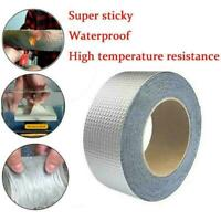 30/50 MM Super Strong Waterproof Tape Butyl Seal Rubber Foil Aluminum T4N5