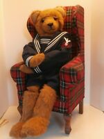 VINTAGE TEDDY BEAR BYMARDIE DROLSHAGEN DESINGNER OFBLACK DIAMONDBEARDOUBLEJOINTE