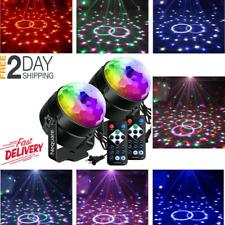 2 PACK Luces de Discoteca Luz de Fiesta para Casas Fiestas y Cumpleaños de Niños