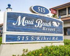 MAUI BEACH 1 BEDROOM ODD YEAR TIMESHARE FOR SALE