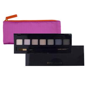 Estee Lauder Pure Color Envy Sculpting 7 Eyeshadow Palette w/Brush & Pink Bag