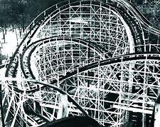 Riverview Park Chicago  BOBS  R.C.  Back curves Original 8X10 B&W Print  (P)