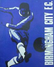 Birmingham City Home Teams Football Programmes