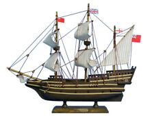 """Mayflower 14"""" - Wooden Model Ship - Tall Model Ship - Replica Mayflower Ship"""