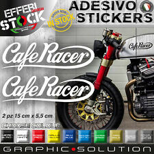 Adesivi Stickers CAFE RACER GENTLEMANS RIDE TRIUMPH DUCATI BMW HONDA BOBBER