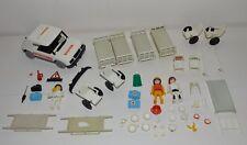 Lot playmobil vintage véhicule ambulance docteur urgence Notarzt 3217 A hopital