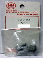 """SS Ltd~O-Scale/1:48 Figure Kit~650-3410~""""JC""""~White Metal~Standing"""