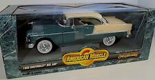 ERTL 1/18 1955 Chevy Bel-Air NEPTUNE GREEN 7256 CORRECT American Muscle SEALED