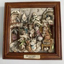Harmony Kingdom Mrs. Lillipurr'S Lodgings Picturesque Tile Figurine