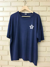 Vintage Russell Athletic Sz XXL Navy Blue Crew Neck T Shirt Chicago Police Logo