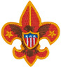 BOY SCOUT EMBLEM EMBROIDERED HAT CAP JACKET COAT PIN JAMBOREE CAMP OA TRADING