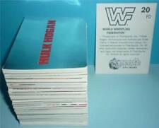 Merlin WWF Wrestling *STICKER 1992* KOMPLETTSATZ 300 Sticker wwe nxt wcw hasbro