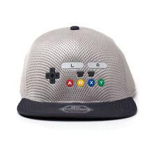 Official NINTENDO SNES Controller Baseball Cap Snapback Hat Retro Gaming Gift