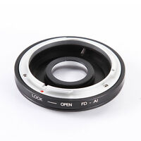 Adapter Ring for Canon FD/FC Lens to Nikon AI F AF Optical Glass Focus Infinity