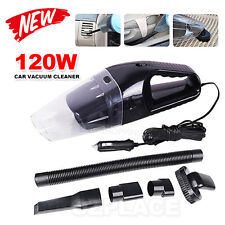 120W Auto Car Vacuum Cleaner with 12V Portable Bagless Handheld Clean Cleaner