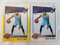 2019-20 Panini NBA Hoops Ja Morant RC Tribute #297 Yellow Parallel + Base Lot