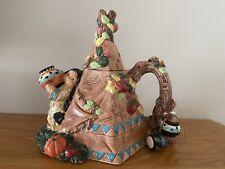 Enesco Rare Friends of the Feather Teepee Teapot