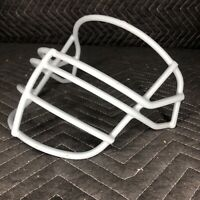 NOS 1990s Schutt JOP Super Pro Adult Football Helmet Facemask - Gray NEW