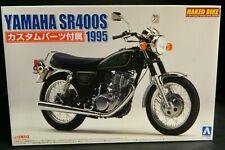 Aoshima Yamaha SR400S (1995) Naked Bike Series Model Kit 1:12 Scale New In Box