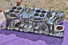 Low profile 2X4 Intake Ford 429 460 Blue Thunder for Show & go-Torino Mustang
