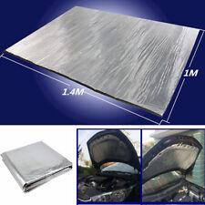 Car Turbo Exhaust Heat Shield Accessories Hood Insulation Fiberglass Cotton Mat