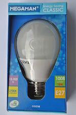 Megaman Classic E27 Gls de inicio rápido de baja energía Lámpara 18w 15000h 2700k 1008 Lumen
