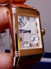 Jaeger LeCoultre Reverso Grande Date Yellow Gold Ref. 240.1.15 8 Day Hand Wind